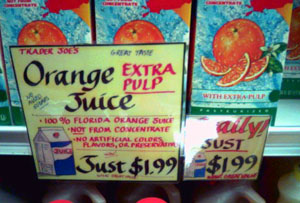 trader joes extra pulp orange juice