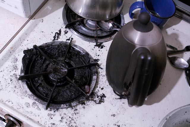 dont put electric kettles on the gas stove I Said, Throw Me In The Fire Now, Come On
